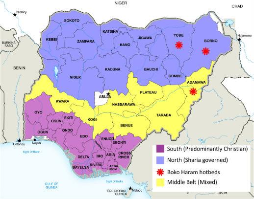 Nigeria states